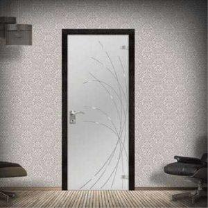 Изготовление стеклянных дверей и перегородок в Минске
