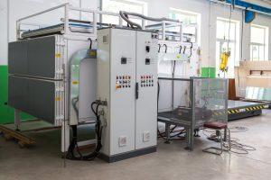 LAMJET 04-2C - печь для производства триплекса